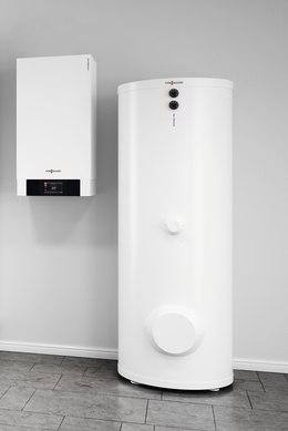 Viesmann / Typ: Vitodens 300 / Gasbrennwertgerät mit Warmwasserbereiter